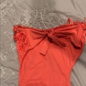 l*space Swim - Coral Fringe Open Back L*Space One Piece